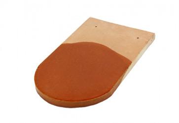 tuile écaille vernissée brun