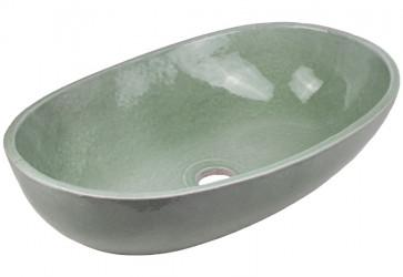 vasque a poser ceramique deco grise