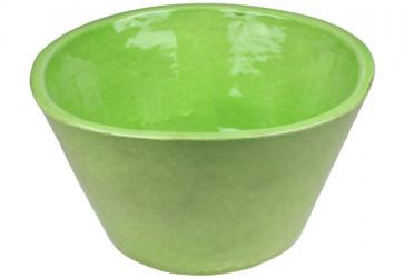 vasque a poser conique verte