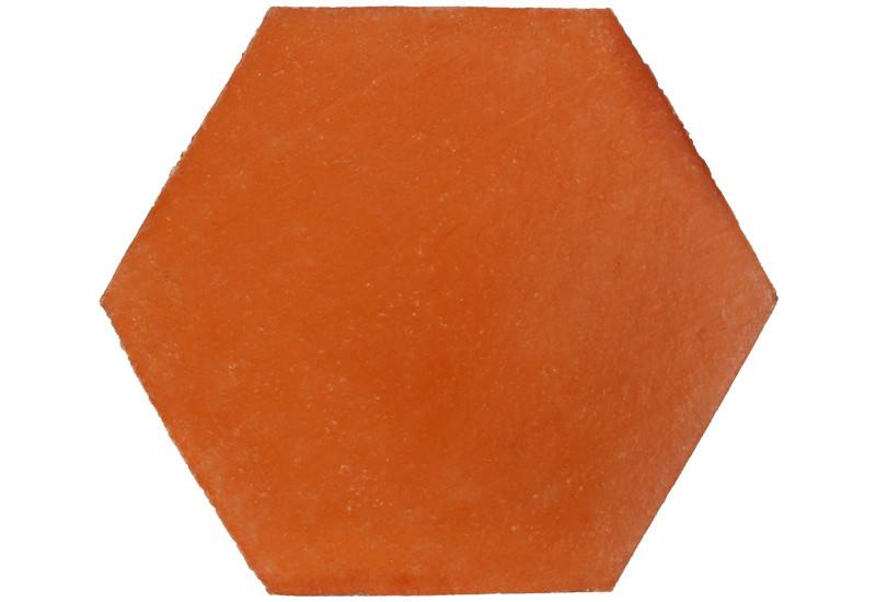 tomette artisanale rouge