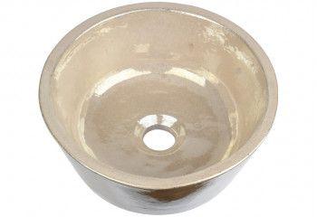 lave-mains céramique blanc nacré