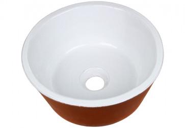 lave-mains céramique blanc