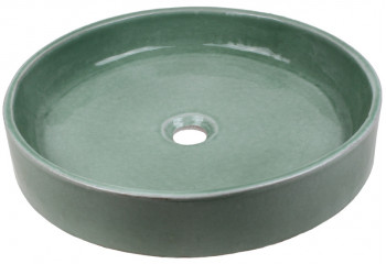vasque a poser ceramique grise