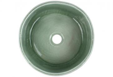vasque a poser fait main grise