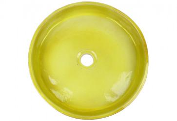 vasque a poser artisanale vert anis