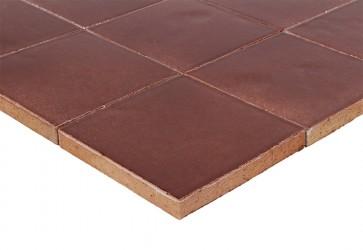 zellige  marron chocolat