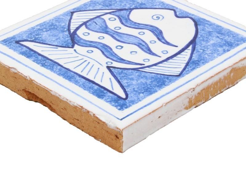 carrelage motif poisson