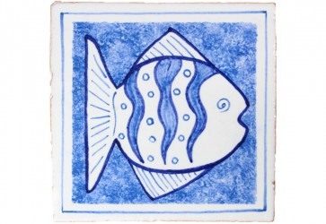 carrelage decor poisson