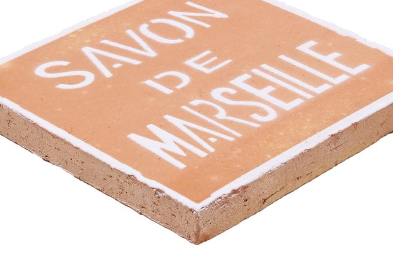 carrelage motif savon de Marseille
