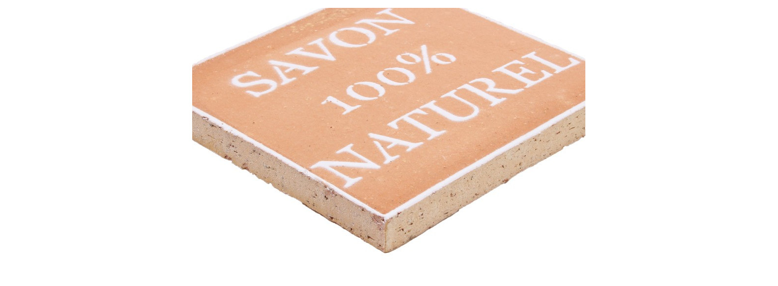 carrelage motif 100 % naturel