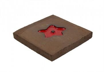 carrelage étoile rouge