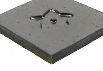 Carrelage motif métal