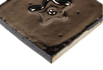 carrelage motif noir