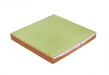 carrelage artisanal vert