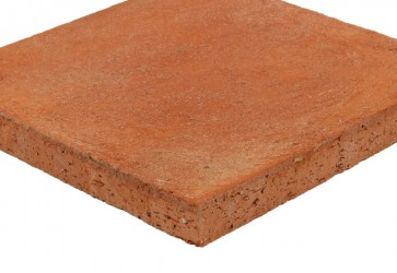 tomette sol extérieur rouge