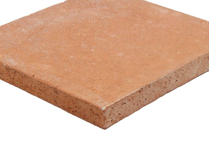 tomette sol extérieur rose
