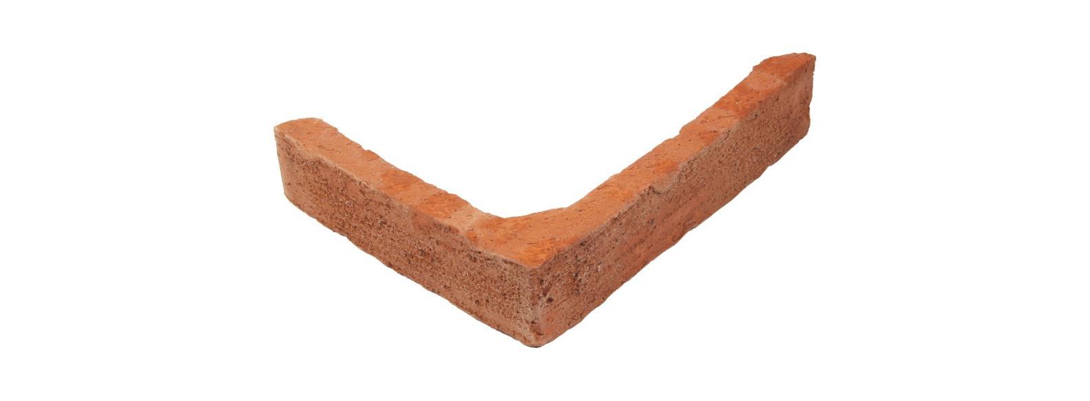 plaquette angle terre cuite exterieur