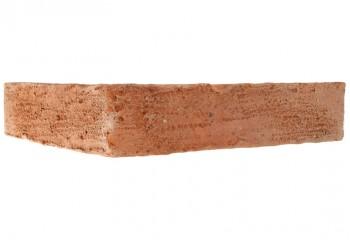 plaquette d'angle terre cuite rouge