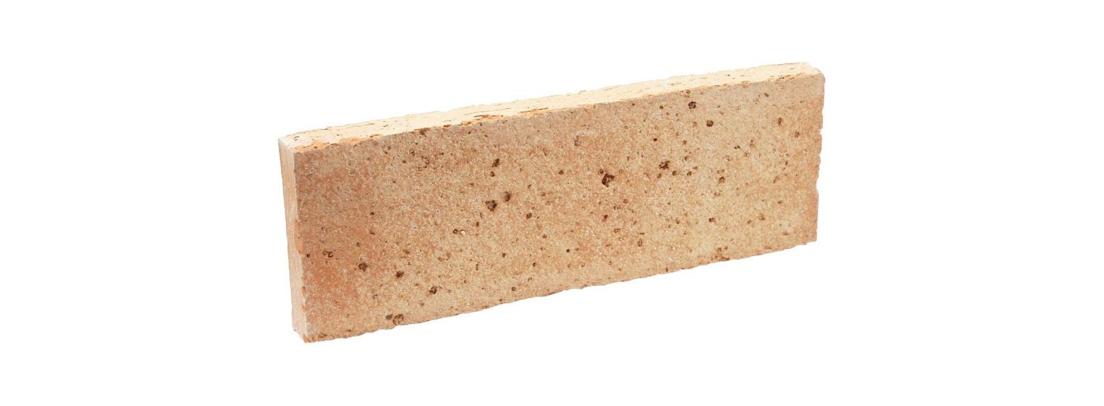 brique beige derriere poele