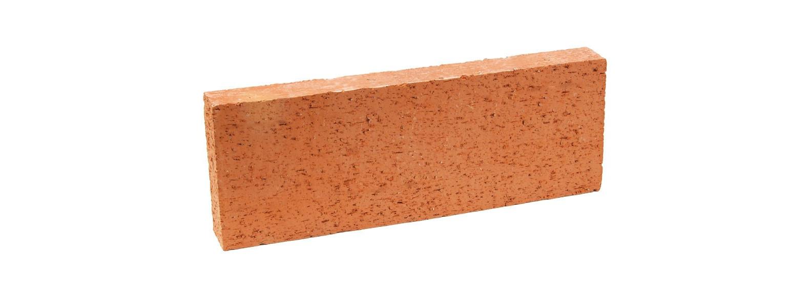 brique rouge derriere poele