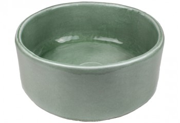 vasque a poser ronde grise