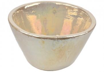 vasque a poser conique nacre