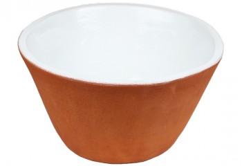 vasque a poser conique bicolore