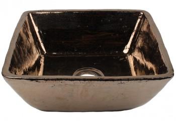 vasque a poser carre noir mordore