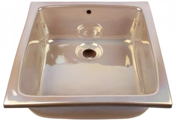 vasque a encastrer cuisine nacre