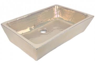vasque a poser ceramique nacre