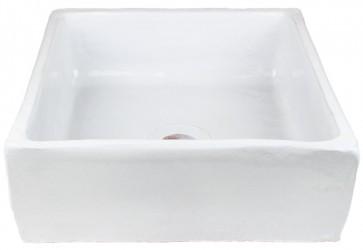 vasque a poser carre blanc