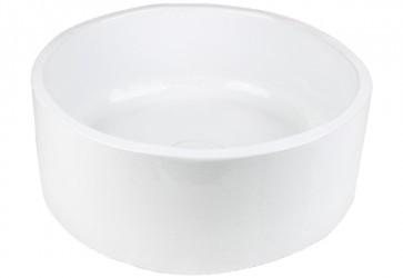 vasque a poser ronde salle de bain blanc