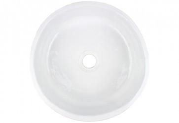vasque a poser fait main blanche