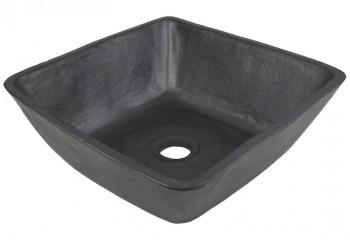 vasque a poser design noire