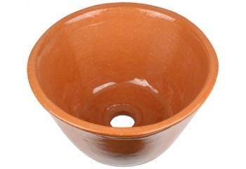 vasque a poser ceramique naturelle