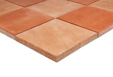carrelage exterieur terre cuite rouge rose