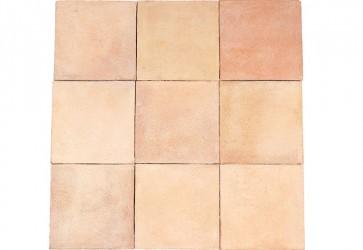 carrelage terre cuite beige rosé