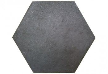carrelage hexagonal metal