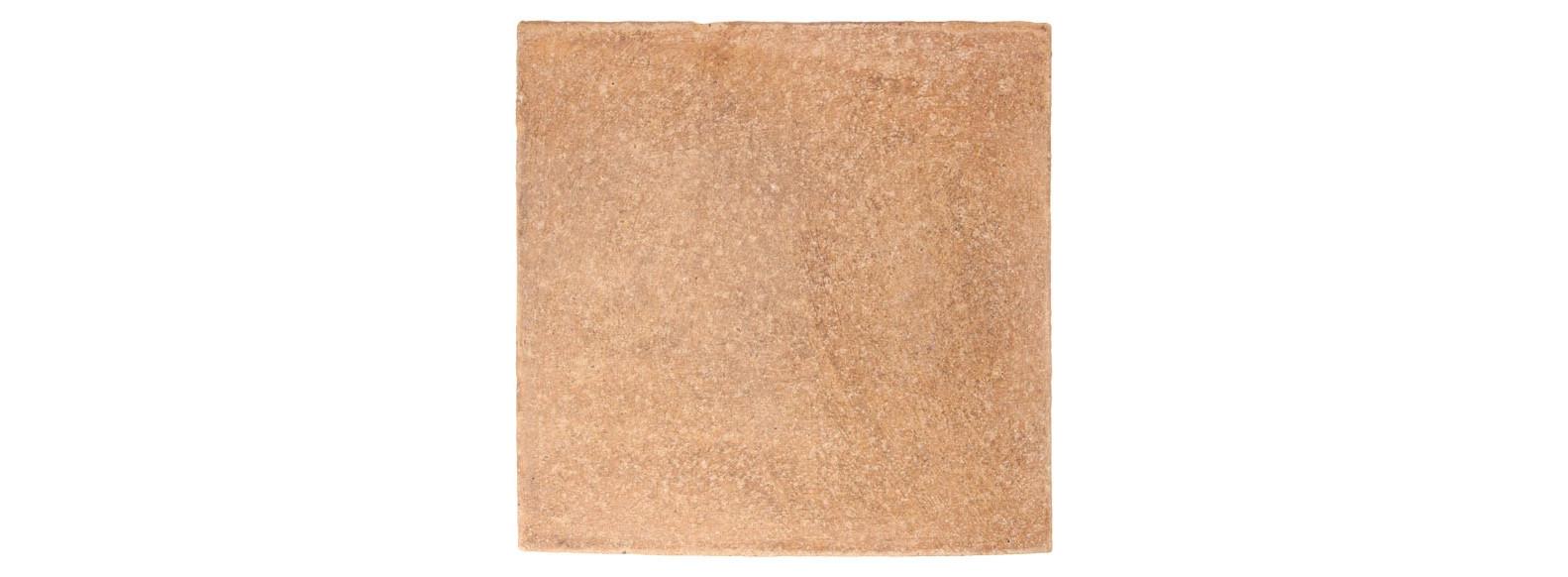 échantillon de terre cuite patinée main pour extérieur clair