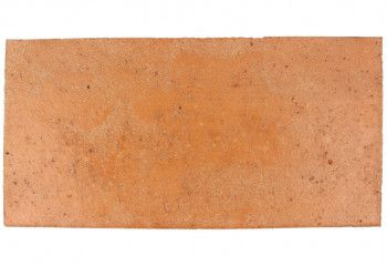 terre cuite ancienne rectangulaire rose