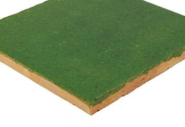 terre cuite vernissee verte