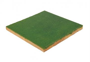 carrelage artisanal vert sapin