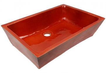 vasque a poser ceramique rose