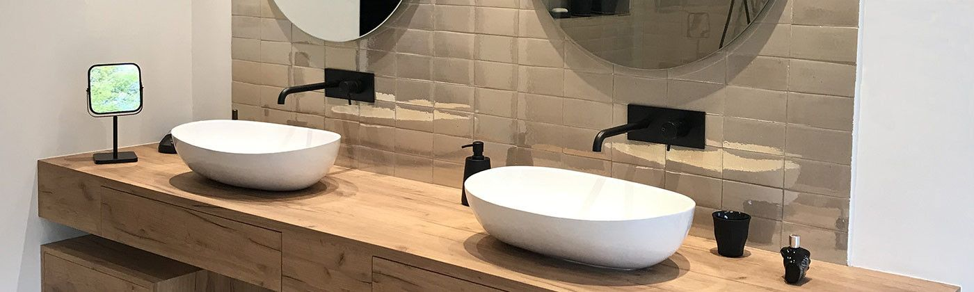 Table-top basins for your kitchen or bathroom