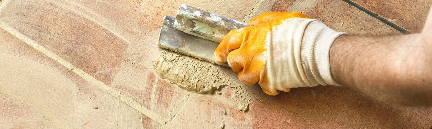 Products for laying interior and exterior omettes and terracotta tiles