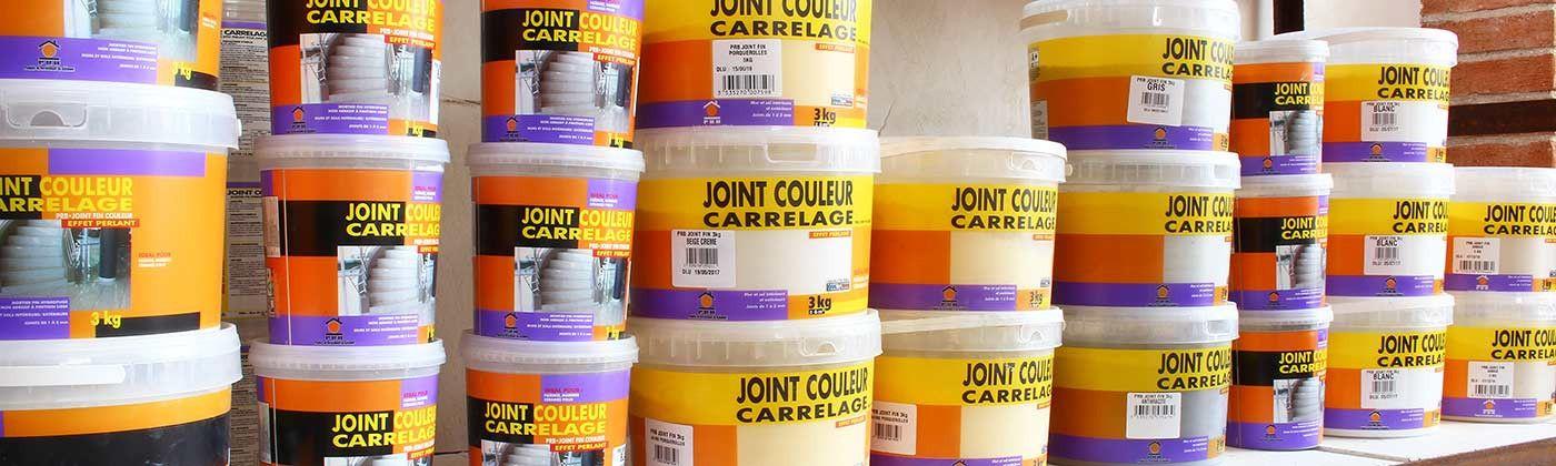 Produits de pose : Colle et Joint pour faience et carrelage