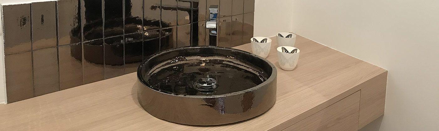 Vasque artisanale pour salle de bain : vasques à poser ou encastrer