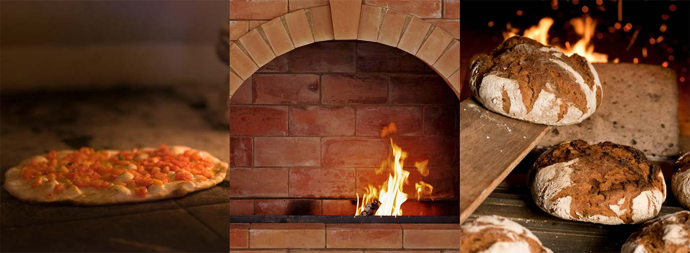 Step-by-step construction of a bread oven