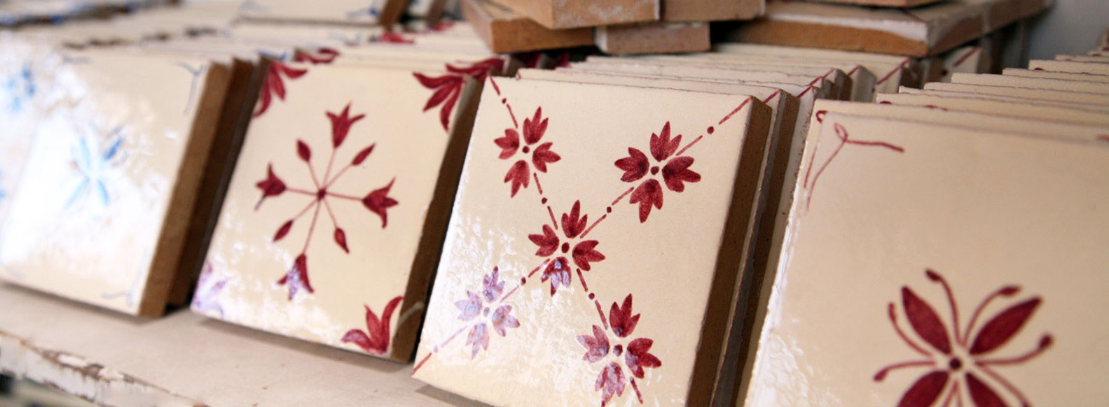 Ordering handmade ceramic tiles for your kitchen