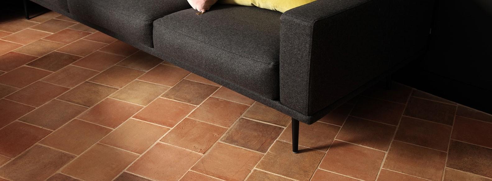 Terracotta floor tile for your interior - Terres Cuites de